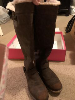EUC, Women s Brown Tall Boots, size 10