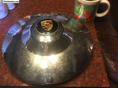 Porsche 356 super hubcaps