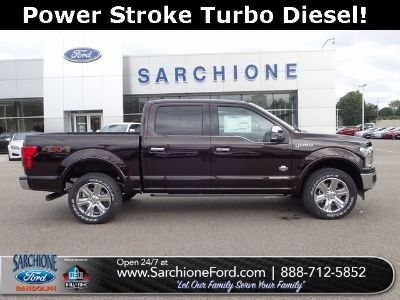 2018 Ford F-150 King Ranch (Magma Red Metallic)