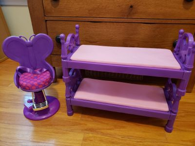 My Life doll beds & chair
