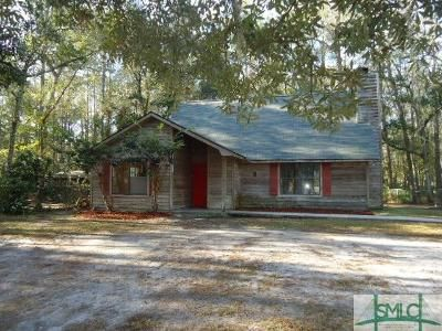 3 Bed 2 Bath Foreclosure Property in Allenhurst, GA 31301 - Talmadge Rd