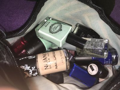 Tons of nail polishes never used