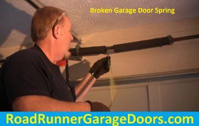 Low Rate For Replace Broken Garage Door Spring in Frisco, TX