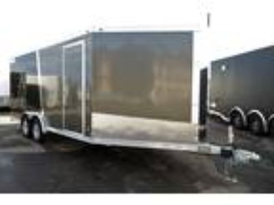 2019 Haulmark ALX 7.5x24TA Enclosed Aluminum Snow Trailer - Charcoal