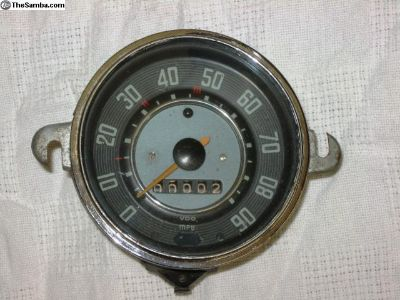 3.1964 Beetle speedometer