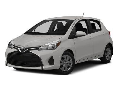 2015 Toyota Yaris 5-Door L (Gray)