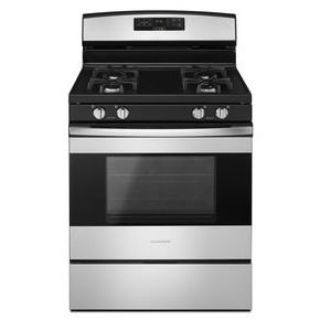 "Amana 30"" Gas Range *Closeout* AGR6303MFB/W/S White or Stainless"