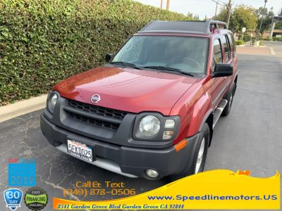 2004 Nissan Xterra XE (Thermal Red Metallic)