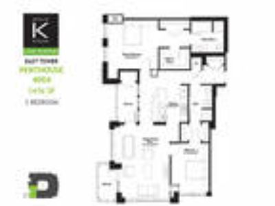 Alta at K Station - East Tower - Two BR - Penthouse Plan 04 & 05