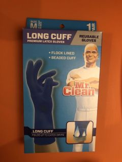 New Mr.Clean reusable gloves