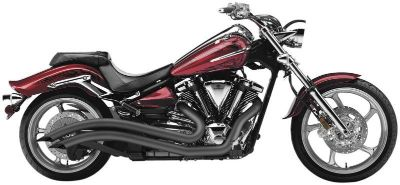 Find Yamaha Raider Cobra Swept Exhaust Black 08-09-10 motorcycle in Ashton, Illinois, US, for US $649.00