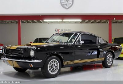 1966 Ford Mustang Shelby GT350H (Raven Black w/ Gold Stripes)