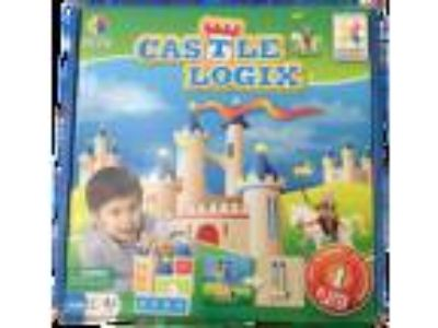Smart Games Wooden CASTLE LOGIX Building Logic Game - For