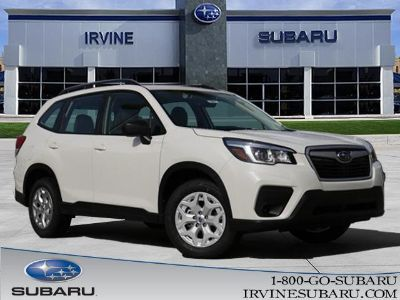2019 Subaru Forester (Crystal White Pearl)