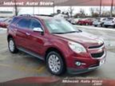 2010 Chevrolet Equinox LTZ w/ AWD, Rear Entertainment, Heated Leather & Sunro