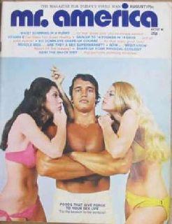 Joe Weiders - Mr America - Arnold Schwarzenegger