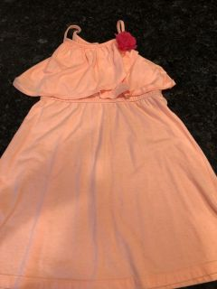 Crazy 8 girls layered dress with flower detail. Very unique. Excellent condition. SF. Size 7/8. $4
