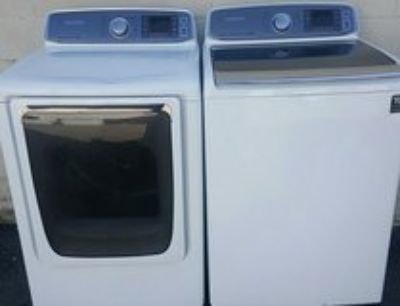 Samsung Steam washer end dryer set