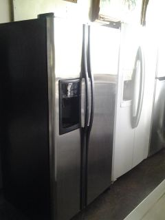 $475, GE Side By Side Stainless Refrigerator