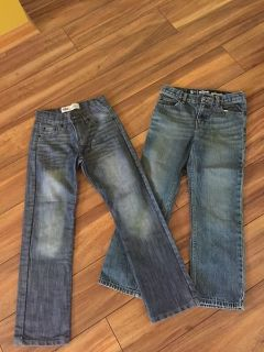 Lot of 2 pairs of jeans boys Sz 10 Like New
