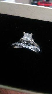 Wedding and promise ring