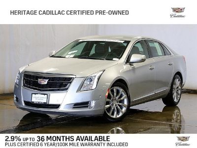 2017 Cadillac XTS Luxury Collection (radiant silver metallic)