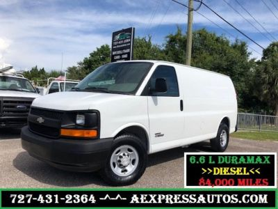 2006 Chevrolet Express 3500 3500 (White)