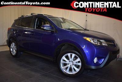 2015 Toyota RAV4 Limited (Blue Crush Metallic)