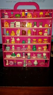 56 shopkins with display case