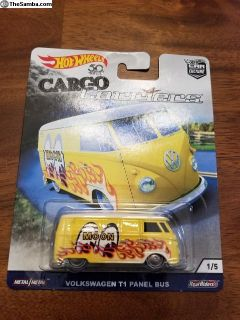 Hot Wheels Cargo Carriers VW Bus