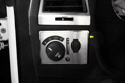Find ACC 151033 - Dodge Challenger Brushed Light Control Trim Plate Chrome Trim motorcycle in Hudson, Florida, US, for US $37.16