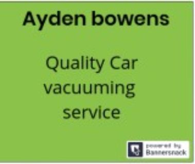 Aydens car sweeping service