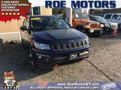 2018 Jeep Compass Trailhawk 4x4 (Laser Blue Pearlcoat)