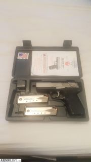 For Sale: Ruger P95PR 9mm plus ammo!