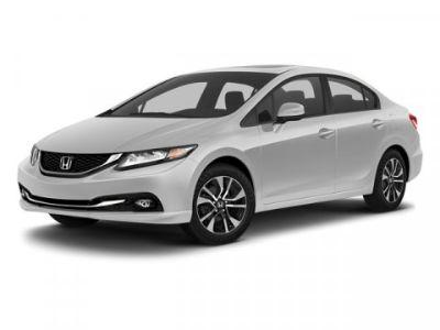 2013 Honda Civic EX-L (White)