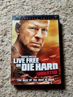 Live Free or Die Hard DVD