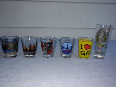 State shot glasses