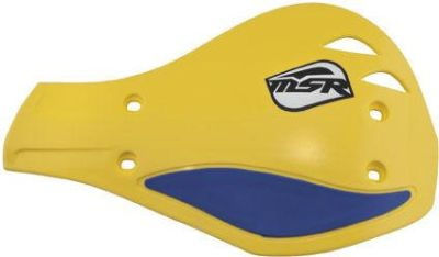 Purchase MSR Evolution Hand Shields - Yellow/Blue, Color: Yellow 51-128 34-0547 motorcycle in Loudon, Tennessee, US, for US $22.45