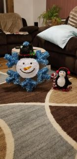 NEW-Snowman and penguin