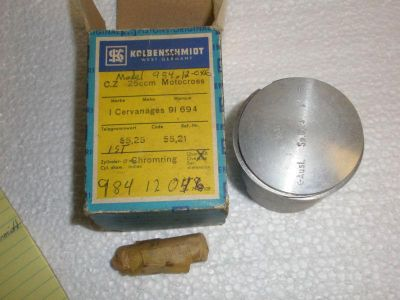 Find CZ 125CC PISTON 55.75MM 3RD OVER motorcycle in Pittsburgh, Pennsylvania, US, for US $100.00