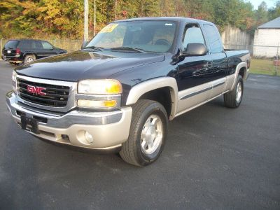 2006 GMC Sierra 1500 Work Truck (Blue)