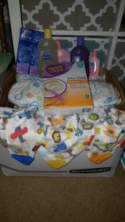 Box of size 3 diapers