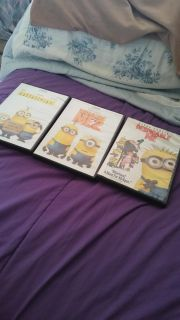3 DISNEY MINIONS MOVIES $10 FOR ALL