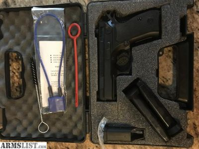 For Sale: CZ 75 D Compact 9mm