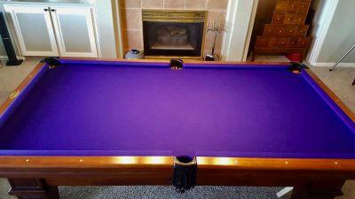 "AE Schmidt ""Majestic"" Pool Table"