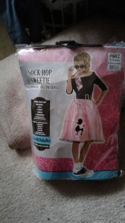 Bnwt adult size Sock hop sweetie costume