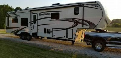 By Owner! 2015 41ft. Keystone Montana 3910FB w/3 slides