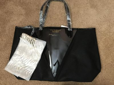 Victoria s Secret tote purse with wallet / clutch