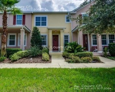 Newly listed 3 Bedroom 2.5 Bath Townhome in Gated Community - Lake Nona!!