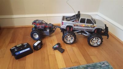 Remote Control Large Monster Truck-Remote not working now